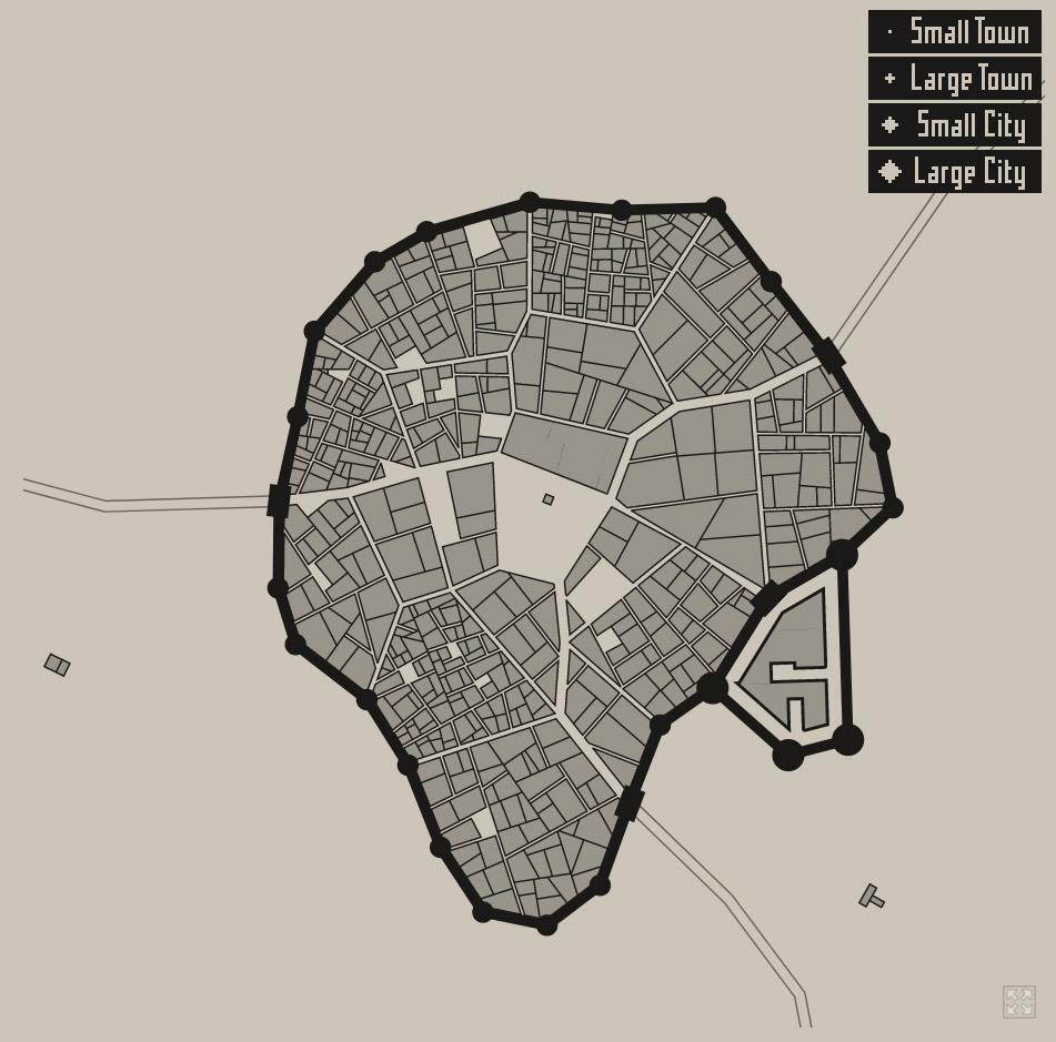 medieval fantasy city generator oleg dolya has – Procedural Generation